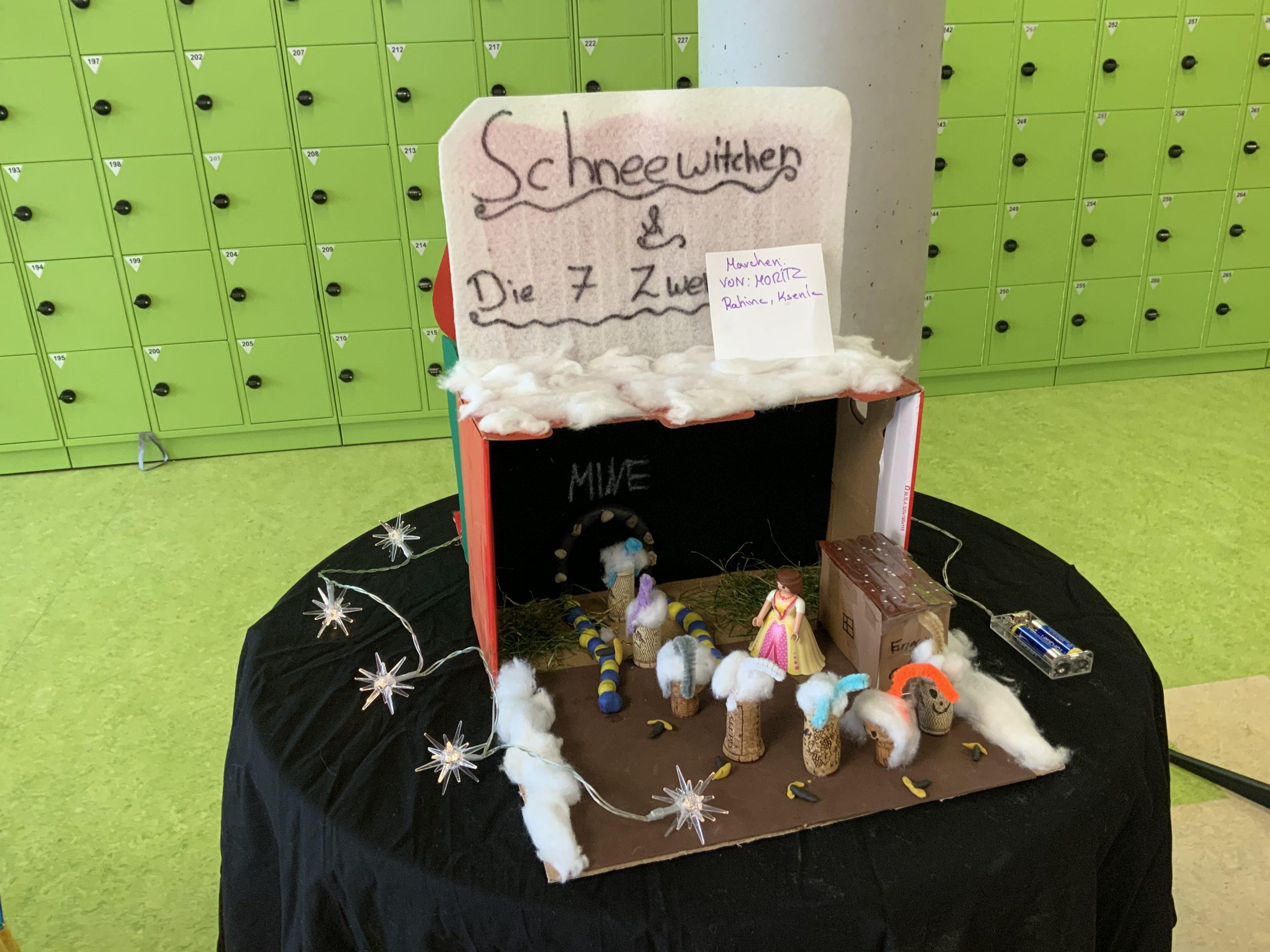Märchenwald 2019 des Jahrgangs 6