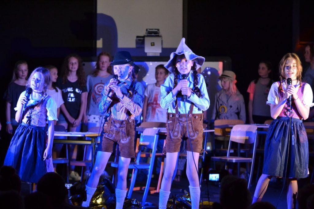 Bild: Musical Auftritt WBG
