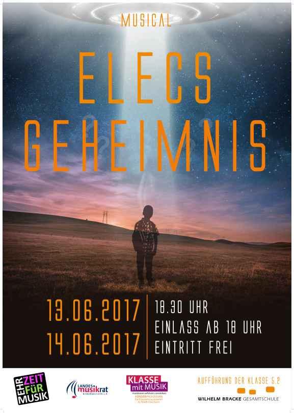 Plakat: Elecs Geheimnis