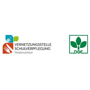 Logo Vernetzungsstelle Schulverpflegung Deutsche Gesellschaft für Ernährung e. V.