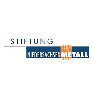 Logo Stiftunf Niedersachsen Metall