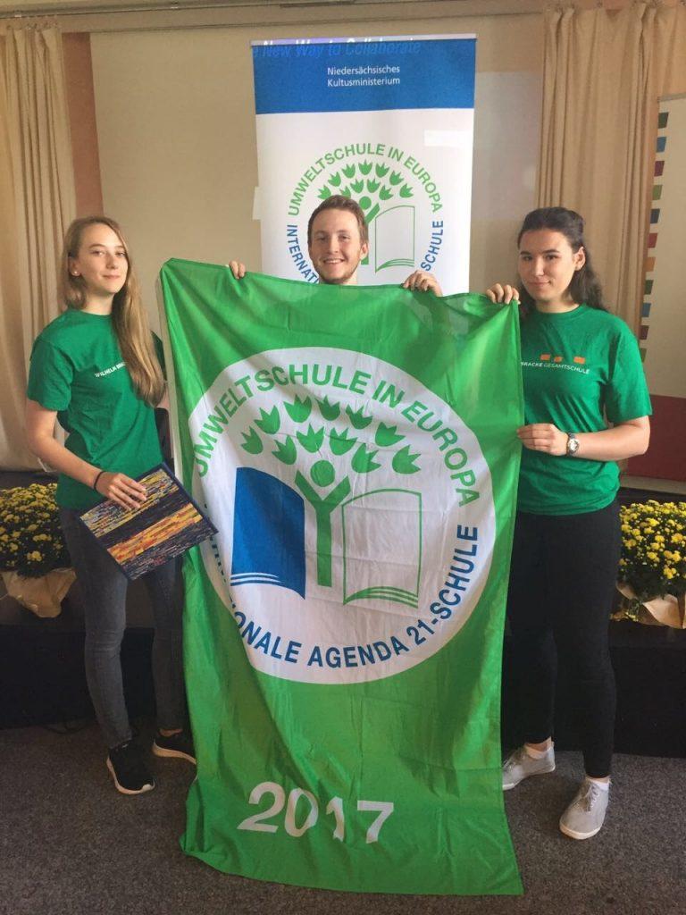 Bild: Umweltschule Fahne