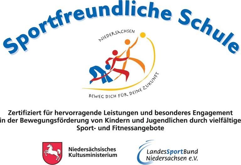 Logo: Sportfreundliche Schule